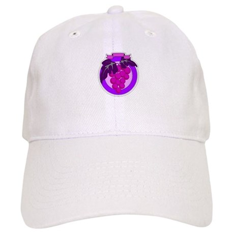 Purple Grapes Cap