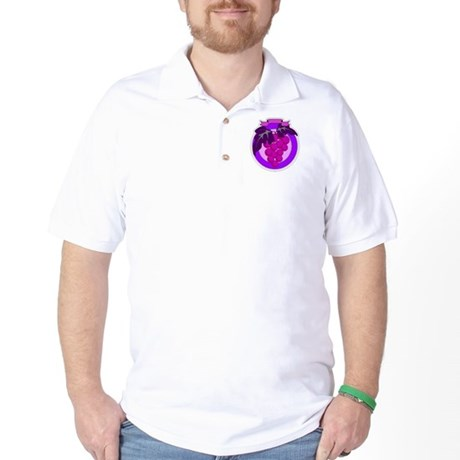 Purple Grapes Golf Shirt