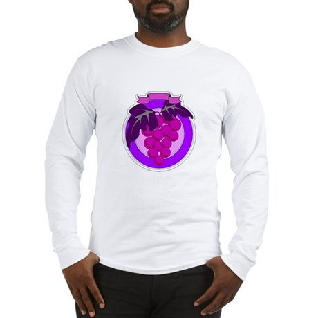 Purple Grapes Long Sleeve T-Shirt