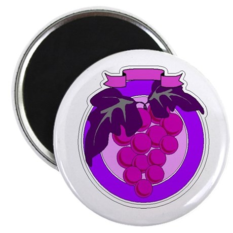 Purple Grapes Magnet
