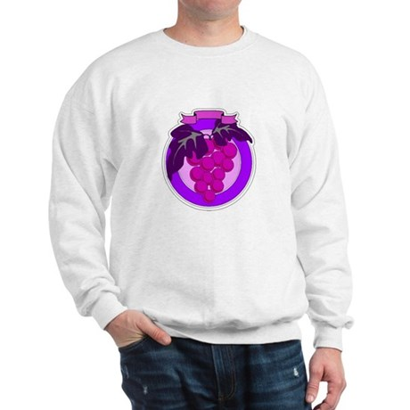 Purple Grapes Sweatshirt