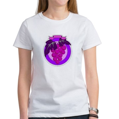 Purple Grapes Women's T-Shirt