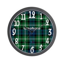 Graham Clan Wall Clock