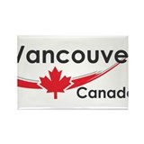 Vancouver Canada Rectangle Magnet (10 pack)
