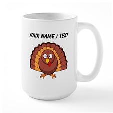 Custom Cartoon Turkey Mugs