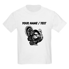 Custom Turkey Sketch T-Shirt