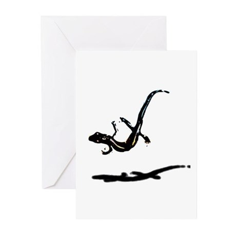 Gecko Greeting Cards (Pk of 10)