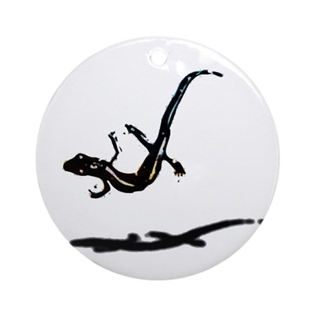 Gecko Ornament (Round)