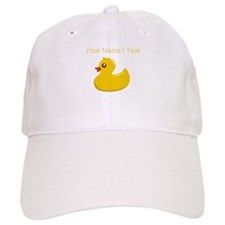 Custom Rubber Duck Baseball Baseball Cap
