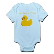 Custom Rubber Duck Body Suit