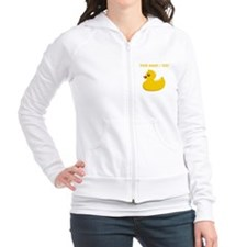 Custom Rubber Duck Fitted Hoodie