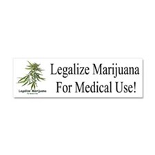 Legalize Marijuana Car Magnet 10 X 3