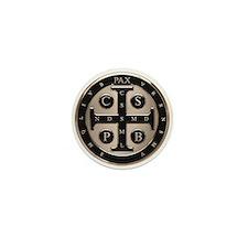 St. Benedict Medal Mini Button