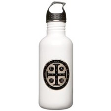 St. Benedict Medal Water Bottle
