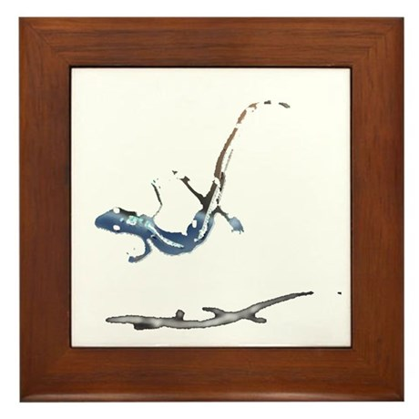 Gecko Framed Tile