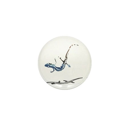 Gecko Mini Button (10 pack)