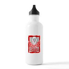 Emphysema Hope Butterfly Water Bottle