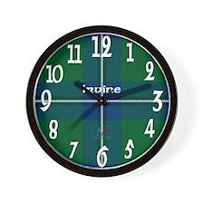 Irvine Clan Wall Clock