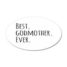 Best Godmother Ever Wall Sticker