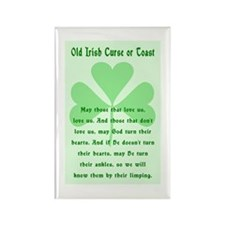 Irish Curse or Toast Rectangle Magnet
