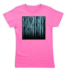 Digital Rain - Blue Girl's Tee