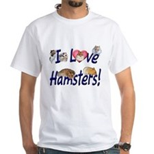 I Love Hamsters #01 Shirt