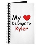 My heart belongs to kyler Journal