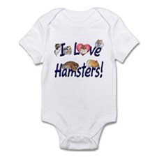I Love Hamsters #01 Infant Creeper