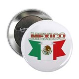 flag Mexico ribbon Button