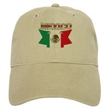 flag Mexico ribbon Baseball Cap