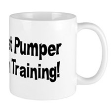 fist-pumper-in-training Mug
