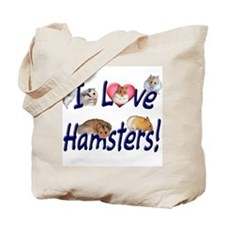 I Love Hamsters #01 Tote Bag
