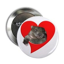 Wombat Love Button
