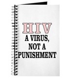 HIV: A virus... (unlined journal)