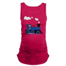 train age 5 blue black Maternity Tank Top