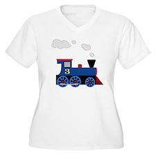 train age 3 blue  T-Shirt