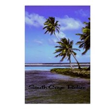 South Caye Belize 5.5x7.5 Postcards (Package of 8)