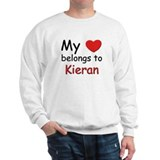 My heart belongs to kieran Sweatshirt