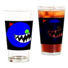 crazyfish Drinking Glass