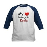 My heart belongs to keyla Tee