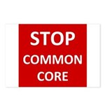 Stop Common Core Postcards (Package of 8)