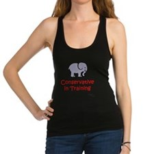 Conservative In Training Racerback Tank Top