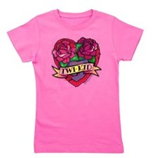 twilight twi-kid tattoo heart Girl's Tee