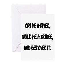Cry Me a River Greeting Cards (Pk of 10)