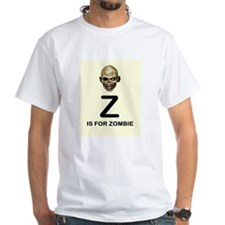 Z is for Zombie Childrens Alphabet Illustration T-