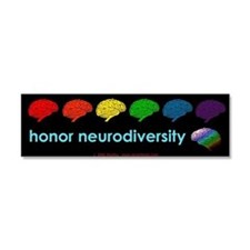Funny Gay pride Car Magnet 10 x 3