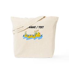 Custom Rubber Duck Family Tote Bag