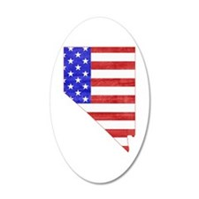 Nevada Flag Wall Decal