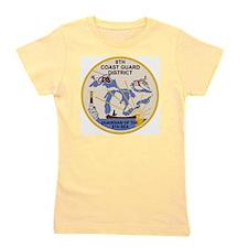 USCG-9th-CGD-Patch Girl's Tee