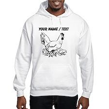 Custom Hen Sketch Hoodie